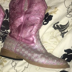 Roper Girls Pink Cowgirl Boots